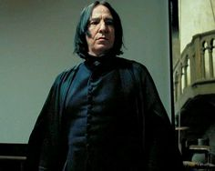 "Alan Rickman as Severus Snape in ""Harry Potter and the Prisoner of Azkaban"" Alan Rickman Severus Snape, Professor Severus Snape, Snape Harry, Harry Potter Severus Snape, Severus Rogue, Who Plays Neville Longbottom, Snape Always, Alan Rickman Movies, Fiction"
