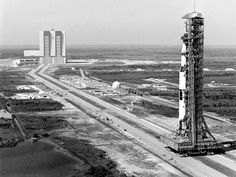 NASA Upgrades Giant Rocket-Carrying Vehicle | Delivering the Saturn V rocket with Apollo 10 to the launch pad in 1969.  NASA  | WIRED.com
