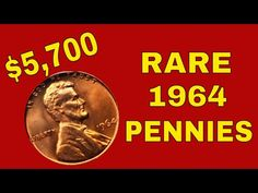 This video is about rare 1964 pennies worth money; what is so special about them and why you should look for them! Also 1964 DDO & DDR varieties! Valuable Pennies, Rare Pennies, Valuable Coins, Old Coins Value, Penny Values, Rare Coins Worth Money, Coin Worth, Coin Values, Antique Coins