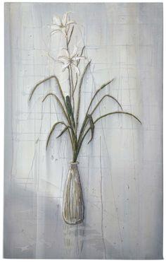 Michael Raedecker propaganda, acrylic and thread on canvas Dutch Artists, Textile Artists, Botanical Art, Watercolor Print, Love Art, Still Life, Needlework, Embroidery Ideas, Canvas