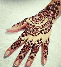 Here is the latest collection of Eid mehndi design. In this article, We have mantioned Latest Eid Mehndi Designs for you. Henna Hand Designs, Eid Mehndi Designs, Mehndi Design 2015, Mehndi Designs Finger, Latest Arabic Mehndi Designs, Mehndi Design Photos, Mehndi Designs For Fingers, Beautiful Mehndi Design, Simple Mehndi Designs