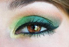 #greeneyeshadow #eye