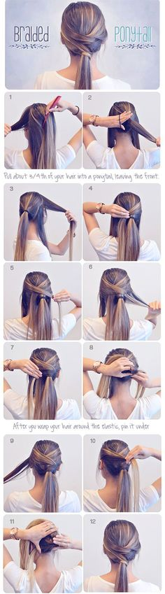 Summer Hairstyle Braids Tutorials