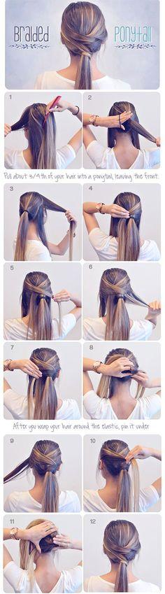 Summer Hairstyle Braids Tutorials