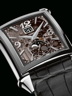 Watches by SJX: Introducing The Girard-Perregaux Vintage 1945 Large Date Moon-Phases, Featuring A Clear Sapphire Dial (With Pricing)