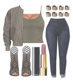 """"""""""" by ayeesabrina ❤ liked on Polyvore featuring Christian Louboutin, Chanel and Maison Margiela"""