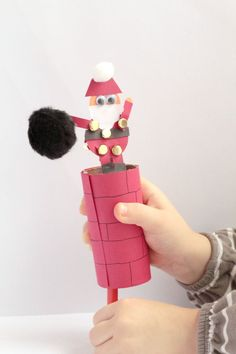 Christmas Crafts – Santa Crafts for Kids – See these cute and easy craft ideas that kids will love … – Gestaltungsideen Handmade Christmas Crafts, Christmas Crafts For Kids To Make, Santa Crafts, Christmas Activities For Kids, Kids Christmas, Christmas Artwork, Father Christmas, Christmas Recipes, Christmas Gifts