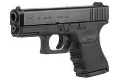 Glock Inch Barrel Black Fixed Sights 10 Round Mag. Glock The subcompact Glock 29 offers superior versatility with the high performance round and a magazine capacity. With reduced dimensions compared to the standard size Glock the subcompact Glo. 45 Caliber Pistol, 45 Acp, Guns And Ammo, Concealed Carry, Self Defense, Airsoft, Firearms, Shotguns, Hand Guns