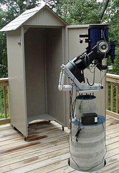 Astronomy - Pier and Telescope Enclosure