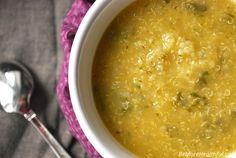Squash, Kale & Quinoa Soup
