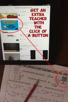 An extra teacher at the click of a button. You won't believe how easy this is!