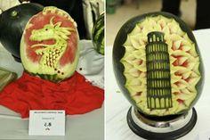 watermelon art 20 awesmoe carvings (10)