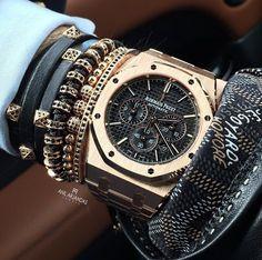 Dieses und weitere Luxusprodukte finden Sie auf der Webseite von Lusea.de Audemars Piguet Royal Oak Chronograph by Anil Arjandas
