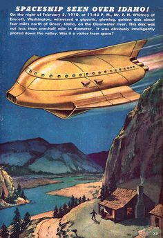 1948... flying potatos! | Flickr - Photo Sharing!
