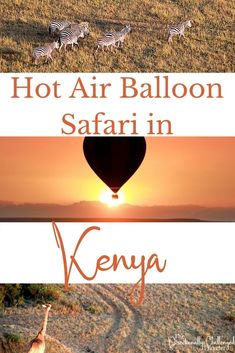 Ultimate Guide to taking a hot air balloon ride over the Masai Mara in Kenya! Kenya Travel, Africa Travel, Air Balloon Rides, Hot Air Balloon, Wildlife Safari, Travel Aesthetic, Photo Location, Plan Your Trip, Travel Essentials