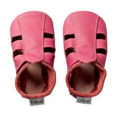 summer lovin'...soft sole sherbet pink sandal