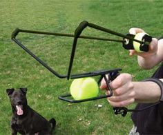 It's not the bionic arm you've been waiting for but acquiring the tennis ball launcher will have you throwing further than ever before. You'll feel like an all star quarter back next time you take Rover to the park for a game of fetch. Your super weak throws may have sufficed when Rover was a…