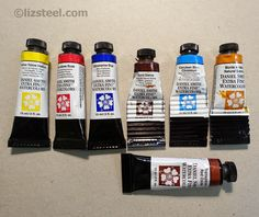 Liz Steel: My recommended minimal watercolour palette