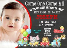 Digital Invitations and party supplies by Party Express Invitations Mickey Mouse Balloons, Disney Mickey Mouse, Circus Birthday Invitations, Party Express, Circus Train, Unicorn Balloon, Rose Gold Balloons, Train Party, Digital Invitations