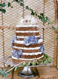 Boho Beach Inspiration Shoot By Nadia Hung Dessert Table Birthday, Picnic Birthday, Dessert Tables, Naked Cakes, Bohemian Wedding Decorations, Rustic Cake, Drip Cakes, Birthday Decorations, No Bake Cake