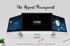 Template de PowerPoint O Relatório - IA Produtos