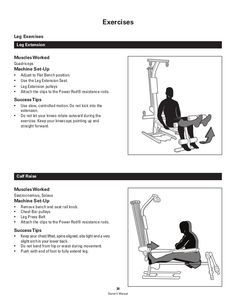 Bowflex Pr1000 Home Gym Exercises Manual In 2020 Home Gym Exercises Bowflex Bowflex Workout