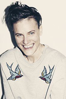 Casey Legler, an athlete, an artist, and the first woman signed as a male model, wrote this smart, insightful article for The Guardian:  http://www.theguardian.com/commentisfree/2013/nov/01/woman-models-mens-clothes-casey-legler?CMP=twt_gu This photo = Photograph: Julian Broad for the Observer