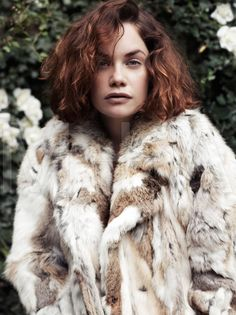 this photo of ruth wilson by scott trindle from vogue NOV2011