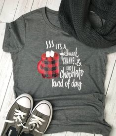 Womens Christmas shirt Womens christmas shirt Christmas Movies Christmas shirts Womens shirt Christmas movies shirt Holiday Tee - Christmas T Shirt - Ideas of Christmas T Shirt - Hallmark Christmas shirt Womens christmas shirt womens gift Ladies Christmas Shirts, Womens Christmas, Christmas Clothes, Christmas Jumpers, Shilouette Cameo, Hallmark Christmas Movies, Hallmark Movies, Movie Shirts, Vinyl Shirts