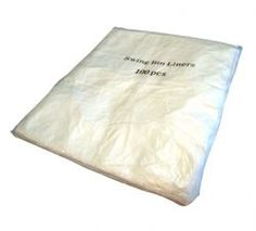 Swing Bin Liners, Easy to insert neatly and to remove quickly Ideal for office waste, also for Swing bins in toilet facilities, or simply for use around the home. Sacks, Burlap Sacks