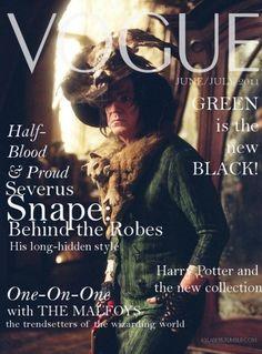 Harry Potter Vogue, ha!