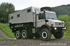 if motorhome then such a -> Unicat MD andyrx - Motor Vehicles Mercedes Benz Unimog, Mercedes Truck, Overland Truck, Expedition Vehicle, Jeep Truck, Truck Camper, Offroad Camper, Camper Van, Cool Trucks