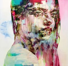 Marco GRASSI - Contemporary Artist - Women Portrait - PinkVelvet & Lady