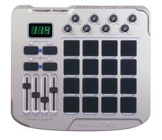 "Another Cool MIDI Controller From My Studio. The M-Audio ""Trigger Finger""."
