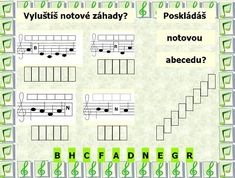HUDEBNÍ VÝCHOVA :: HUDEBNÍ VÝCHOVA Piano Teaching, Petra, Musicals, Preschool, Education, Children, Young Children, Boys, Kid Garden