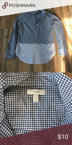 Brand New! J Crew cotton shirt size 0 Brand New! J Crew cotton shirt size 0 J. Crew Tops Button Down Shirts