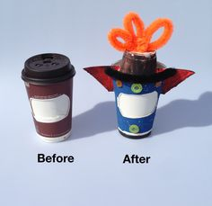 #Before and #After of our #Rocket #Ship #Craft! #Crafts for #Kids