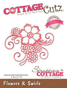 The Scrapping Cottage - Where CottageCutz are Always Blooming - CottageCutz - April 2016