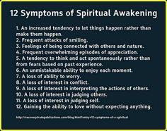 12 Symptoms of Spiritual Awakening