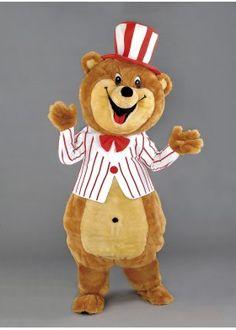 Circus Bear Mascot Costume