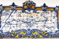 A Relíquia: A arte do Azulejo-Portugal começou a fabricar azulejos na Segunda metade do século XVI, e o fez brilhantemente. Mas o uso dos ladrilhos naquele país remonta ao século XV, quando peças de cerâmica de origem desconhecida revestiram a antiga igreja de Santo André de Alfama, e peças provenientes da Espanha decoraram o Paço Real, em Sintra e a Sé Velha, em Coimbra. Rede ferroviária de Beira Alta