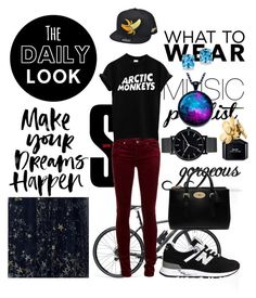 """work"" by dakotavainilla on Polyvore featuring moda, Gucci, Mulberry, New Balance, The Horse, Kevin Jewelers, Marc Jacobs, women's clothing, women's fashion y women"
