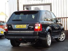 2006 #LandRover #RangeRoverSport 2.7 TDV6 HSE 5dr Auto Estate. Diesel. Black. Click for loads more. £16,995