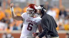 Lincoln Riley is a finalist for the Broyles Award, and Baker Mayfield and Samaje Perine are up for the Earl Campbell Tyler Rose Award.