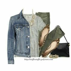 Outfit idea for olive pants I already own. Fall Winter Outfits, Autumn Winter Fashion, Spring Outfits, Komplette Outfits, Casual Outfits, Fashion Outfits, Olive Outfits, Fashion Tips, Fashion Trends