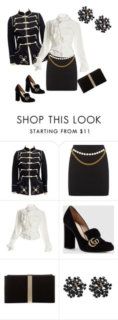 """""""Wow!"""" by frizzgirly on Polyvore featuring Chanel, Vivienne Westwood, Gucci and Roger Vivier"""