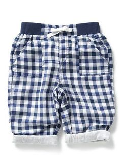 Seed Heritage - 100% Cotton yarn dyed pant with contrast jersey lined cuffs (for boys)