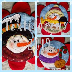 Felt Christmas, Xmas, Adornos Halloween, Christmas, Christmas Crafts, Christmas Ornaments, Tablecloths, Navidad, Weihnachten