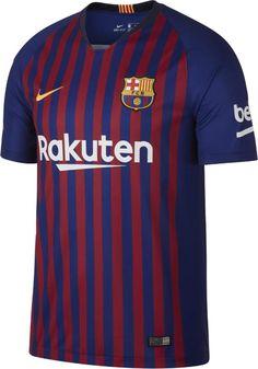 ed8b1052090 Nike Sergi Roberto FC Barcelona Long Sleeve Home Jersey 18 19
