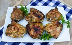 Italian Food Forever » Spicy Orange Grilled Chicken Thighs